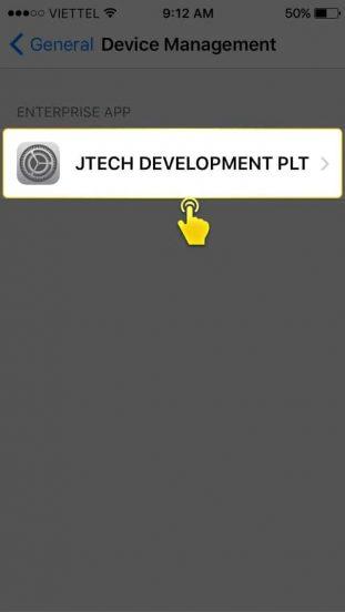 ขั้นตอนที่6 วิธีติดตั้ง SLOTXO บน iOS