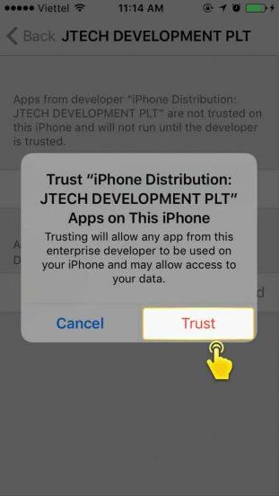 ขั้นตอนที่ 8 วิธีติดตั้ง SLOTXO บน iOS